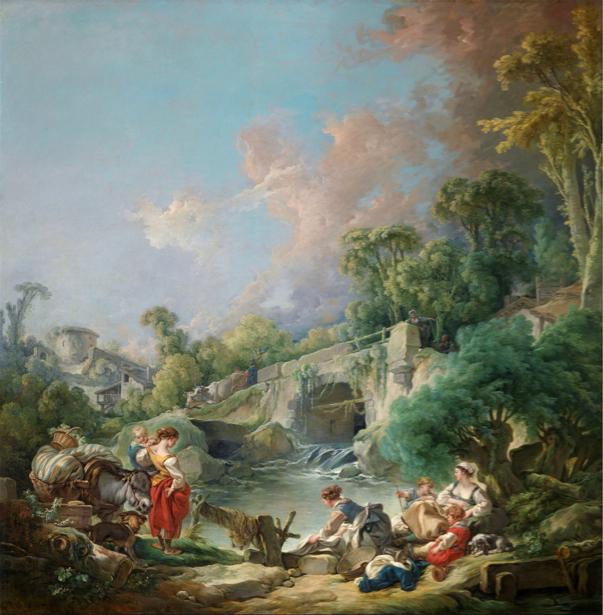 Франсуа Буше, жанровая композиция (art-0000133)