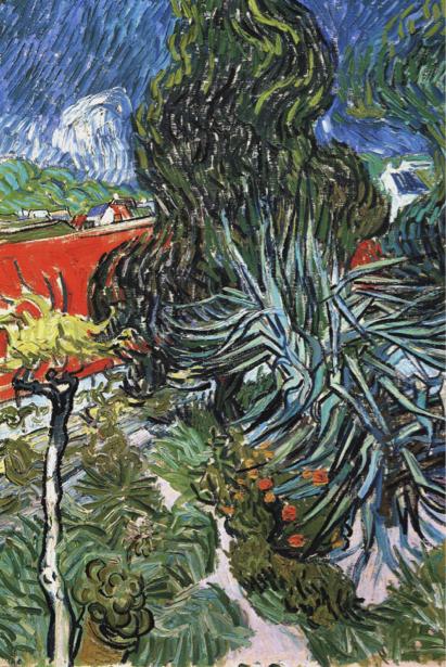 Ван Гог пейзаж (art-0000178)