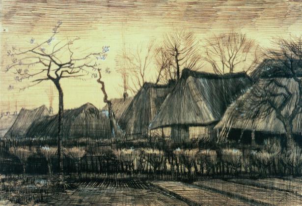 Ван Гог пейзаж (art-0000198)