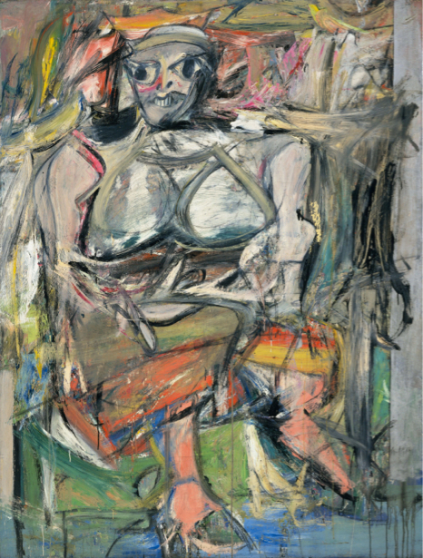 Виллем де Кунинг, экспрессионизм (art-0000664)