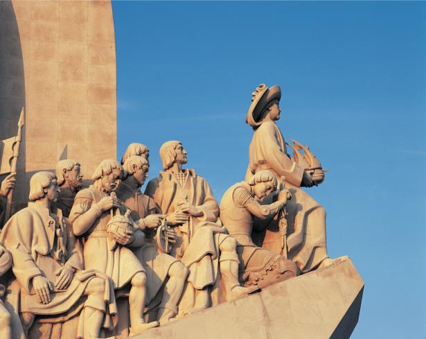 Фотообои Лиссабон, Португалия скульптура (city-0000064)