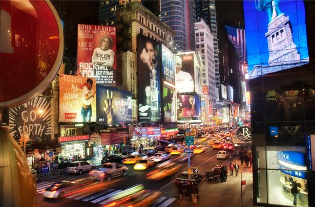 Фотообои городской пейзаж Нью-Йорк (city-0000143)