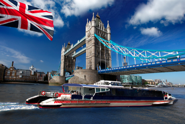 Фотообои Англия Лондон река Темза (city-0000154)