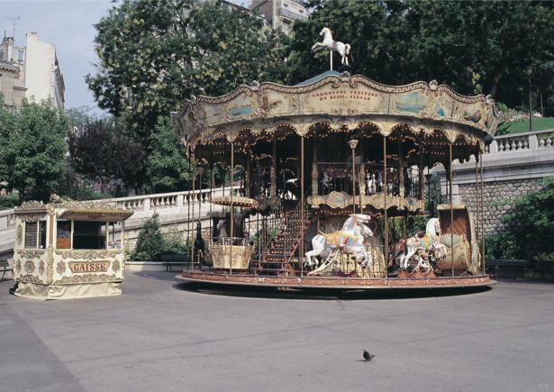 Фотообои карусель, Франция (city-0000213)