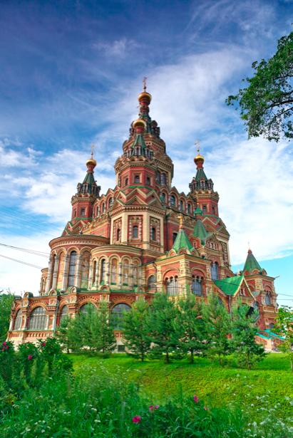 Фотообои Церковь Св. Петра и Павла (city-0000615)