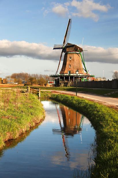 Фотообои Ветряная мельница (city-1458)