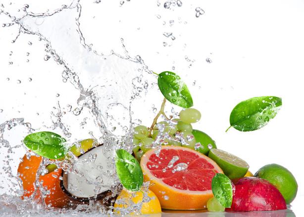 Фотообои кухня с фруктами (food-342)