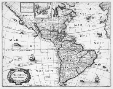 атлас, география, карты, старая карта (map-0000092)