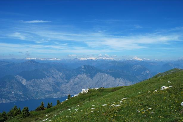 Фотообои панорама с видом горы (nature-00475)