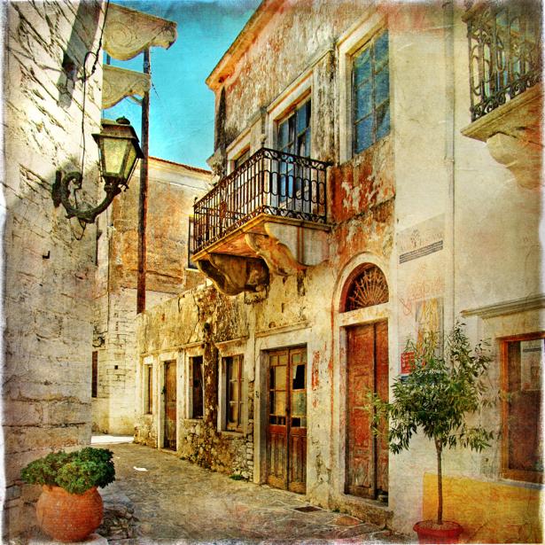 Фотообои Венеция Италия архитектура (retro-vintage-0000152)
