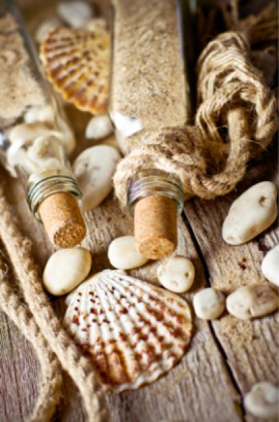 Фотообои морские камешки веревка (sea-0000102)