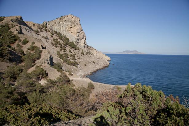 Фотообои Черное море скалы (sea-0000271)