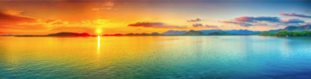 Фотообои в зал море берег закат (sea-0000314)
