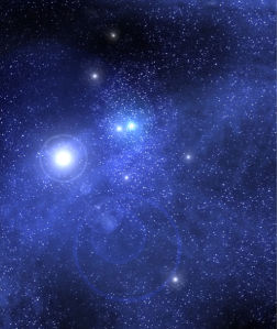 Фотообои звезды космос (space-0000061)
