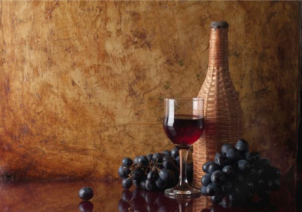 Фотообои с вином с вином (still-life-0019)