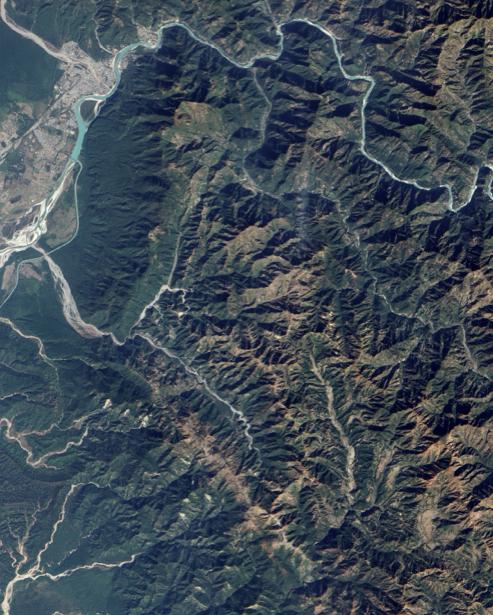 Фотообои на заказ горные хрепты (terra-00153)