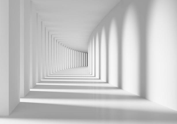 Фотообои абстрактный коридор (3d18)