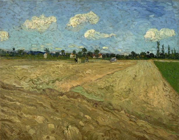 Ван Гог пейзаж (art-0000270)