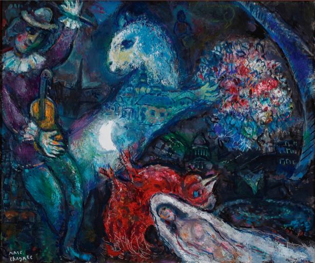 Шагал, авангард (art-0000385)