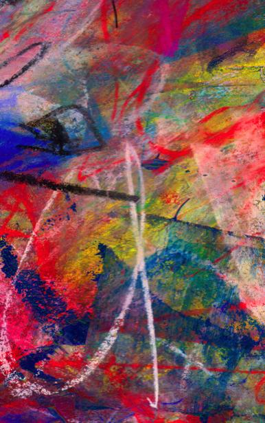 Фотообои абстракция краски и пастель (background-0000070)
