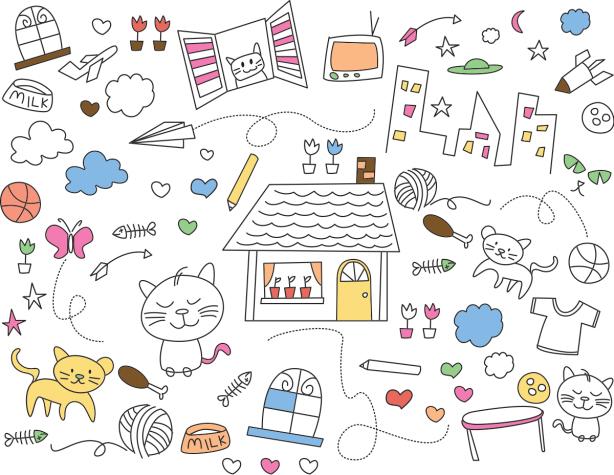 Фотошторы детская графика (children-curtain-00014)