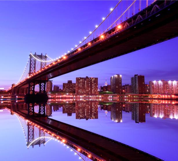 Фотообои Манхэттенский мост Америка (city-0000144)