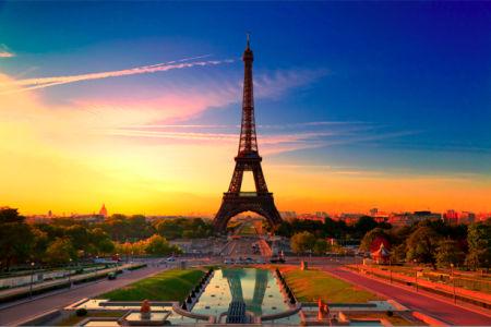 Фотообои Эйфелева башня, Франция (city-0000265)