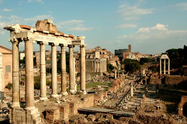 Фотообои Римский форум, Италия, Рим (city-0000301)