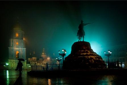 Фотообои Памятник Богдану Хмельницкому (city-0000314)