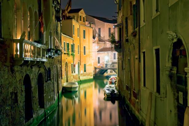Фотообои канал в Венеции (city-0000476)