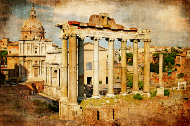 Фотообои Римский форум (city-0000521)