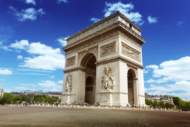 Фотообои Франция Триумфальная арка (city-0000680)