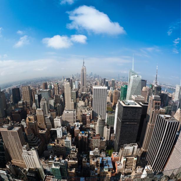 Фотообои Америка Нью-Йорк небоскребы (city-0000827)
