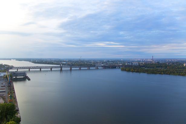 Фотообои Днепропетровск через Днепр (city-0000966)