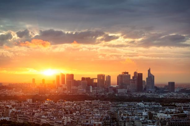 Фотообои Париж горизонт Ля Дефанс (city-0001297)
