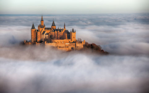 Фотообои замок-крепость Баден (city-0001396)