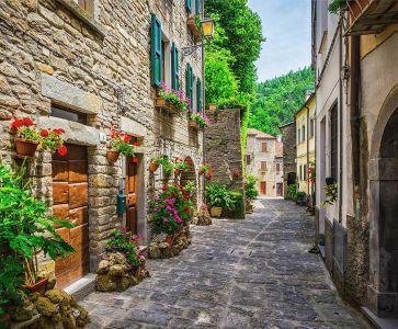 фотообои аллея Тосканы (city-1437)