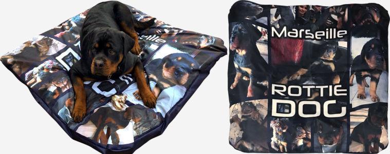 Подушка Rottie dog (dog-16)