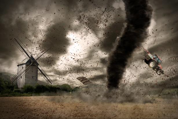Фотообои ураган в поле (fantasy-0000087)