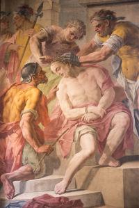 Фотообои фреска Санта Мария Ассунта ин Чертоза (fresco-004)