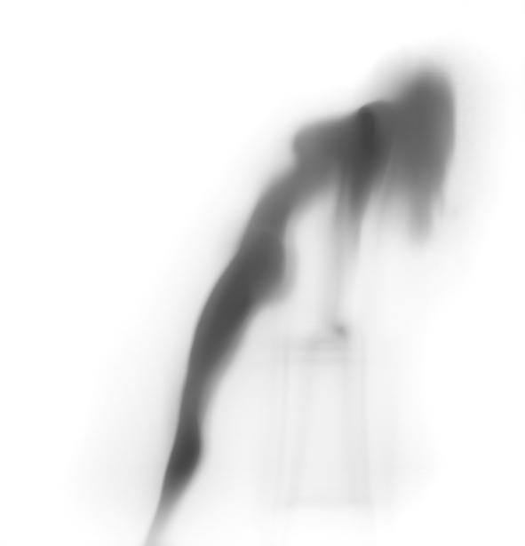 Фотообои девушка фигура в контражуре (glamour-0000154)