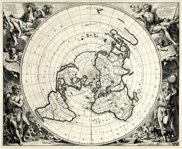 атлас, география, карты, старая карта (map-0000138)