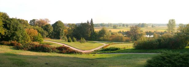 Фотообои парковый ландшафт панорама (panorama_0000027)