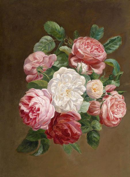 Картина букет роз (pf-146)