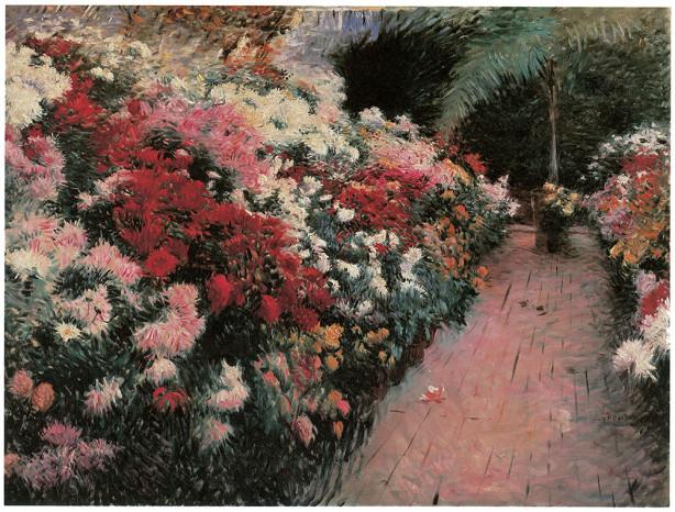 сад, цветы (pf-24)