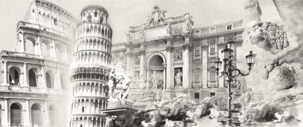 Фотообои Архитектура Италии (printmaking-0000047)