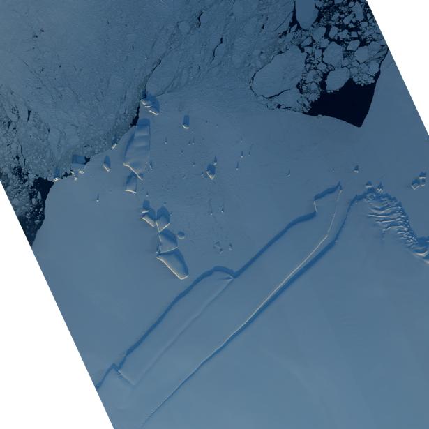 Фотообои 3д снег со льдом (terra-00038)