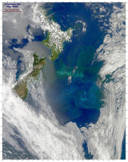 Фотообои 3д голубое NASA (terra-00063)
