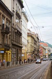 Фотообои Львовская улица (ukr-51)