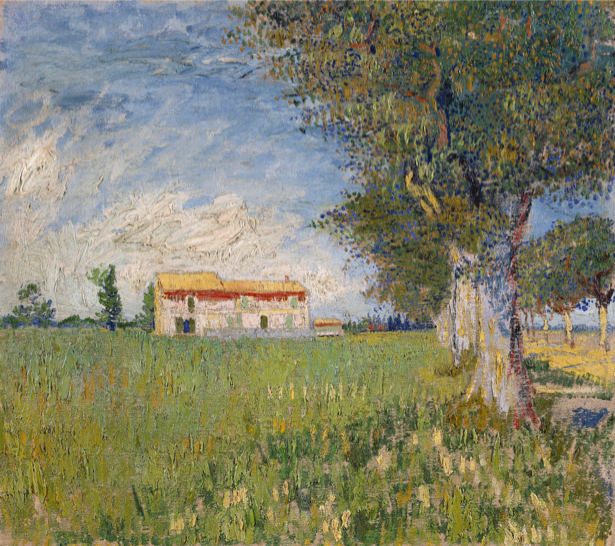 Ван Гог пейзаж (art-0000182)